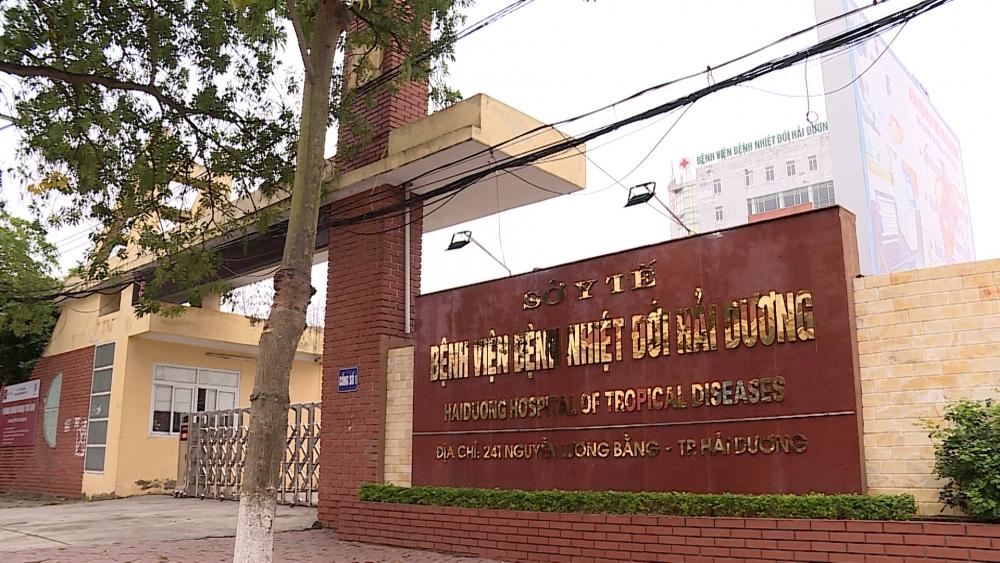 Bệnh viện Bệnh nhiệt đới Hải Dương được xét nghiệm khẳng định SARS-CoV-2