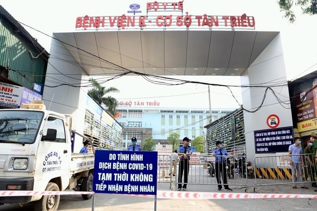 Hải Dương ghi nhận 2 trường hợp nhiễm bệnh có liên quan đến ổ dịch Bệnh viện K