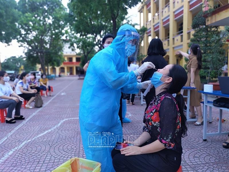 Hải Dương: Hơn 50 giáo viên, học sinh trường THCS Tân Bình phải cách ly tại nhà do tiếp xúc với F1