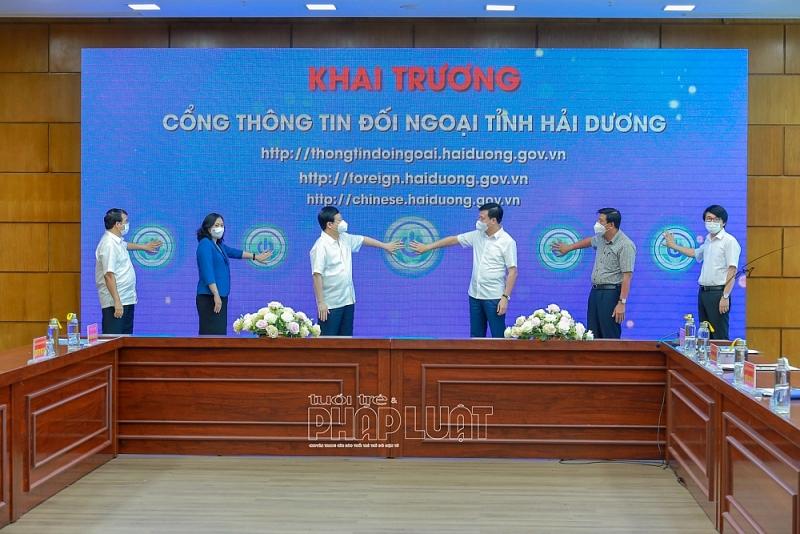 Khai trương Cổng Thông tin đối ngoại tỉnh Hải Dương