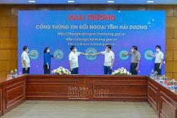 Ra mắt Cổng thông tin đối ngoại tỉnh Hải Dương