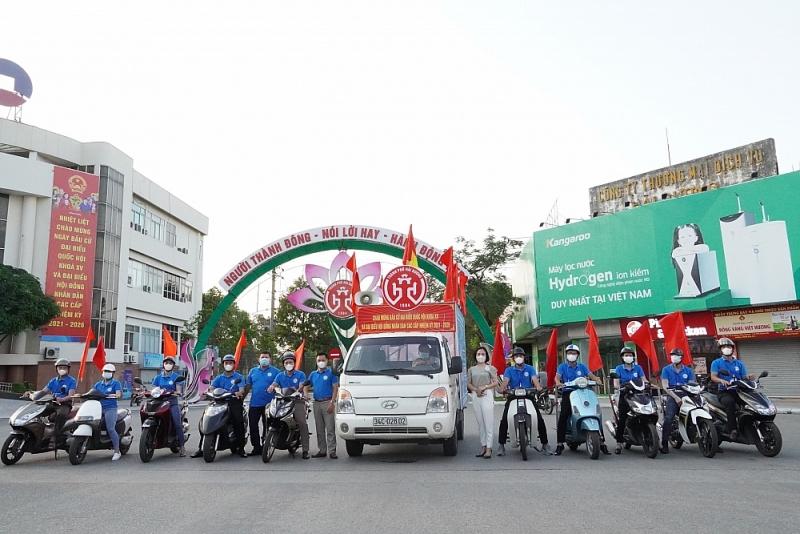 Hải Dương: Ra mắt MV chào mừng chào mừng ngày bầu cử