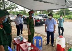 Lãnh đạo tỉnh Hải Dương kiểm tra công tác phòng, chống dịch Covid-19 tại TP Chí Linh