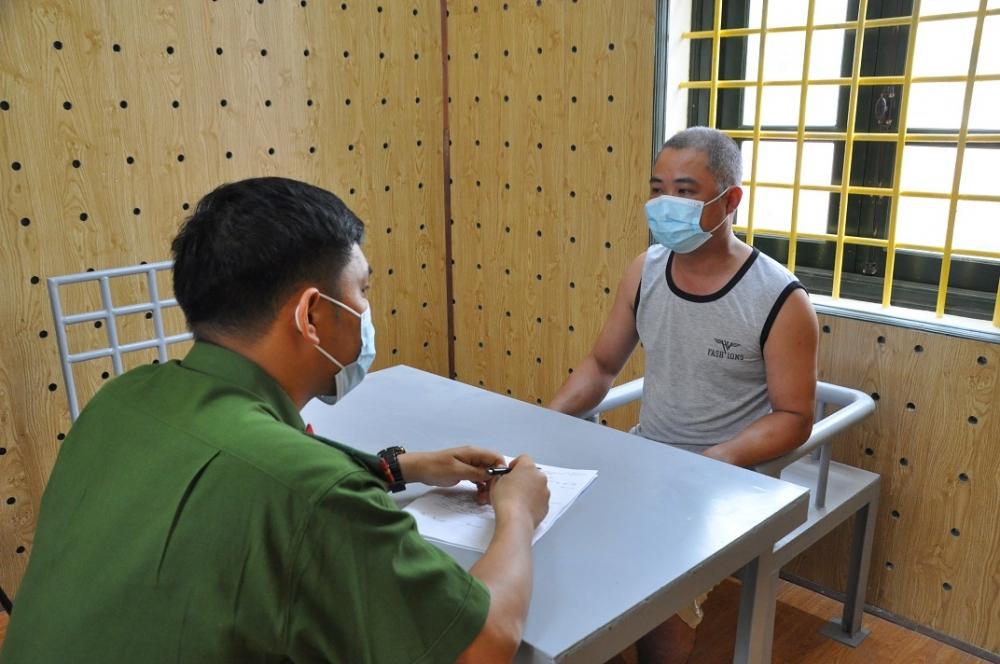 Hải Dương: Công an huyện Gia Lộc bắt đối tượng hủy hoại tài sản