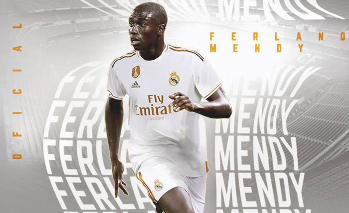 real madrid chinh thuc chieu mo thanh cong ferland mendy