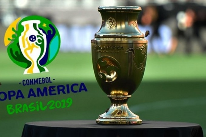 bang xep hang cup nam my copa america 2019