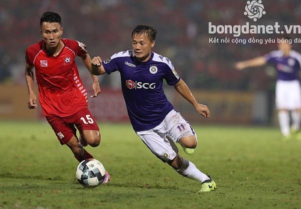 lich thi dau va truc tiep vong 14 v league 2019 hai phong vs ha noi fc