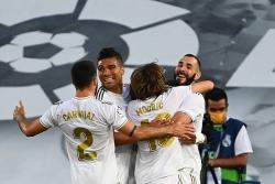 Chức vô địch La Liga chính thức gọi tên Real Madrid
