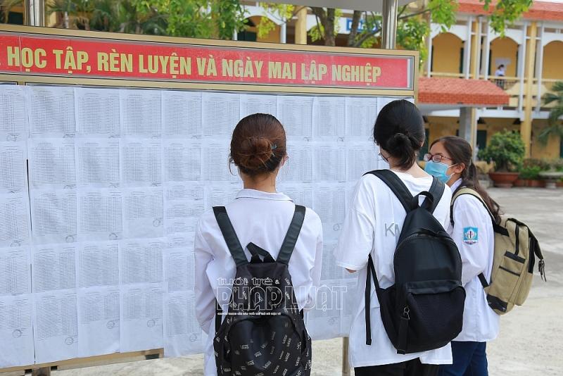 Hơn 22.000 thí sinh Hải Dương bước vào môn thi tốt nghiệp THPT đầu tiên