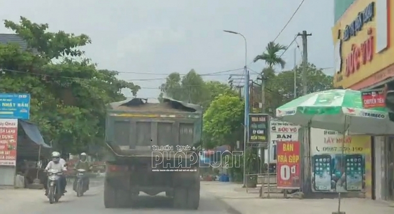 xe quá tải Thanh Hà