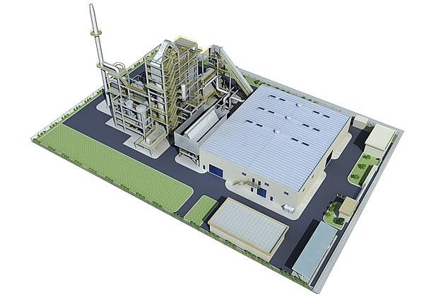 nhà máy xử lý rác thải phát điện