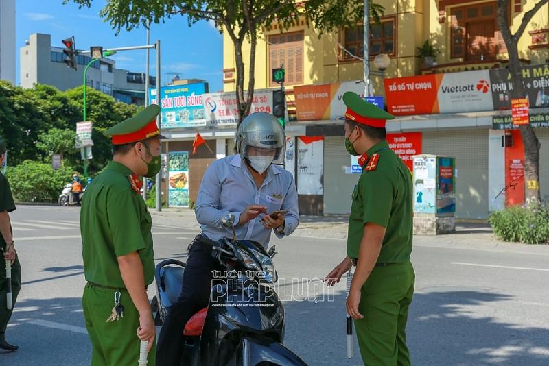 Thanh Xuân - Hà Nội: Người dân chỉ ra đường khi thực sự cần thiết