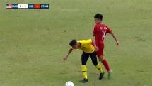 U15 Việt Nam 1-3 U15 Malaysia: Đánh rơi vé vào chung kết