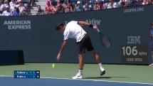 """Federer - Evans: """"Tàu tốc hành"""" bứt tốc vào vòng 4"""