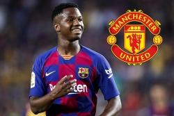 Tin chuyển nhượng 25/8: Man Utd sẵn sàng chi tiền tấn cho thần đồng của Barcelona