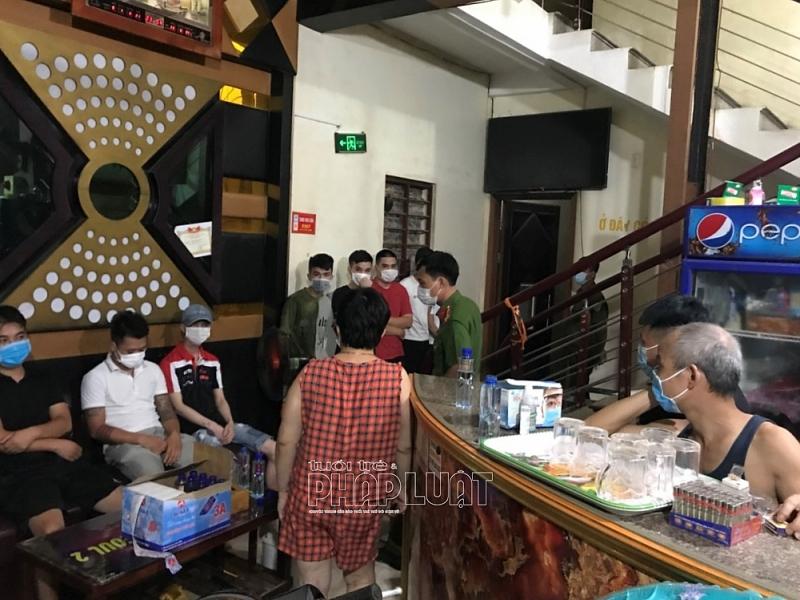 Hải Dương: Quán karaoke Seoul tái diễn vi phạm quy định phòng chống dịch Covid-19