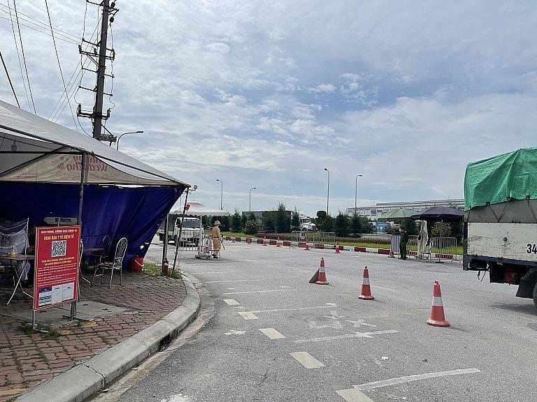 Triển khai phần mềm tại chốt A01 (Km48+00 Quốc lộ 5 ngã ba Hoàng Long giao đại lộ Võ Nguyên Giáp, TP. Hải Dương).