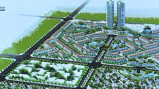 Quy hoạch chi tiết khu đô thị phía Đông đường Võ Nguyên Giáp, phường Hoàng Diệu, thành phố Thái Bình