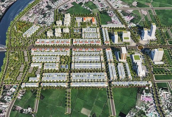 dự án Khu đô thị mới phía Tây Dĩnh Trì