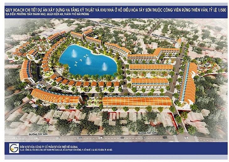 Dự án Xây dựng hạ tầng kỹ thuật và khu nhà ở hồ điều hòa Tây Sơn thuộc Công viên rừng Thiên Văn