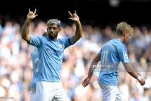 Man City 4-0 Brighton: Siêu sao tỏa sáng, The Citizens tạm dẫn đầu bảng