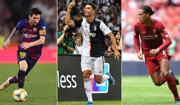 the best 2019 virgil van dijk tiep tuc dau ronaldo va messi
