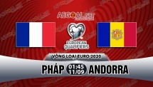 Nhận định trước trận đấu Pháp vs Andorra, 01h45 ngày 11/9