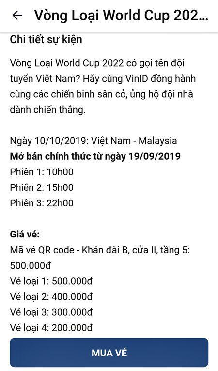 ve xem tran viet nam vs malaysia dot 1 ban het trong chop mat