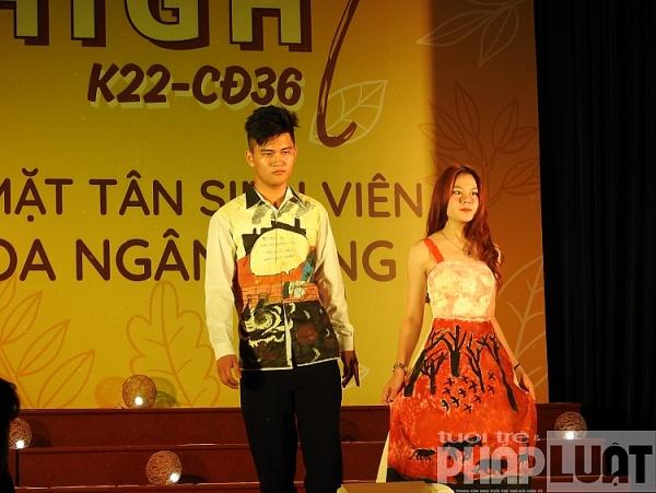 soi dong va an tuong chuong trinh chao don tan sinh vien k22 cd36 khoa ngan hang