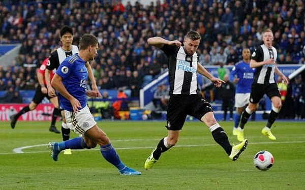 leicester city 5 0 newcastle united buoc ngoat the do dai tiec ban thang
