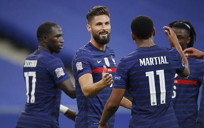 """Kết quả Nations League: Pháp """"ngược dòng"""" đánh bại Croatia, Anh hòa Đan Mạch"""
