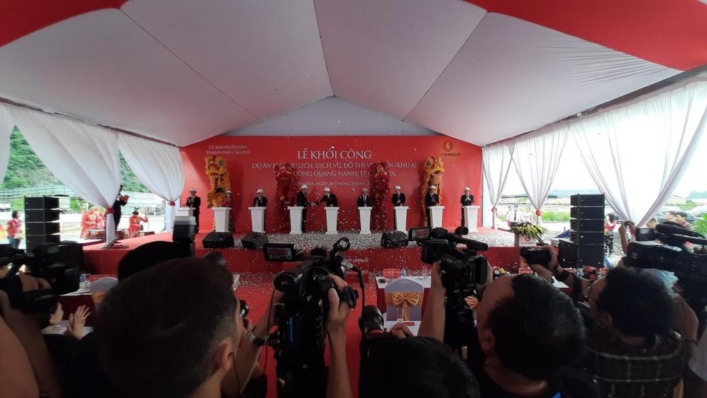 Vingroup khởi công dự án gần 3.000 tỉ bên vịnh Bái Tử Long