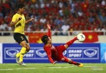 Quang Hải lập siêu phẩm giúp ĐT Việt Nam thắng nghẹt thở ĐT Malaysia