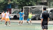 Lần đầu tiên Báo Tuổi trẻ Thủ đô vào bán kết giải bóng đá Hội khỏe Hội Nhà báo Hà Nội mở rộng