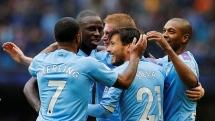 """Man City 3-0 Aston Villa: Đại thắng """"ba sao"""", đòi lại ngôi nhì bảng"""
