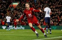 Kết quả các trận đấu thuộc các giải châu Âu: Liverpool ngược dòng, Man Utd đang trở lại