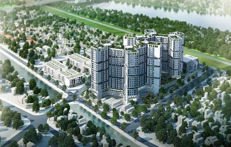 Hà Nội: Phê duyệt đồ án Quy hoạch 1/500 Tổ hợp công trình công cộng, trường học và nhà ở Đức Giang