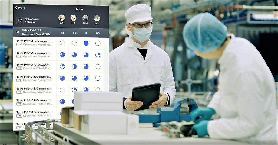 Chương trình Lao động Kết nối của Tetra Pak cung cấp các thiết bị và dịch vụ kỹ thuật số nhằm nâng cao kỹ năng làm việc của các công nhân nhà máy