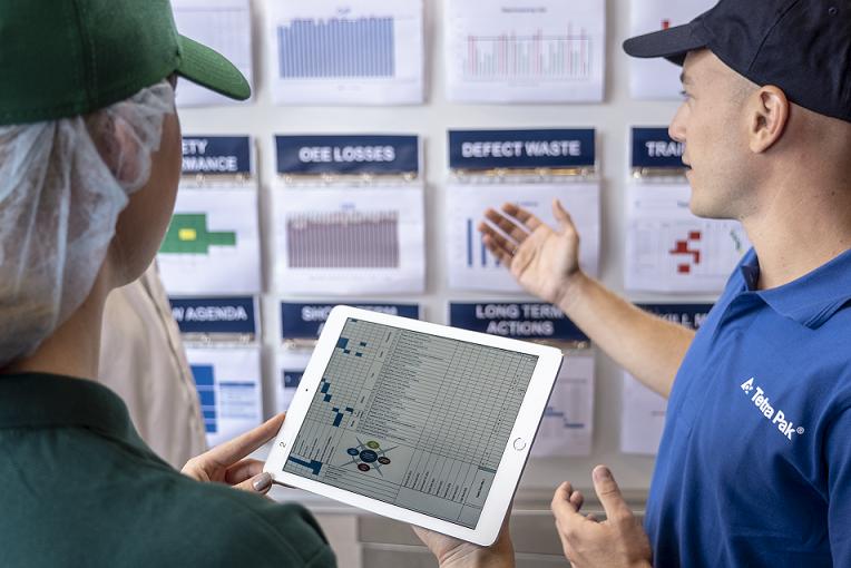 Poka đã giúp các nhà sản xuất giảm 5,9% thời gian thiết bị ngừng hoạt động, tăng 18% năng suất lao động và giảm 64% các vấn đề về chất lượng
