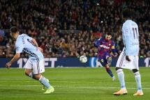 Barcelona 4 - 1 Celta: Messi vẽ 2 siêu phẩm, Barca giữ vững ngôi đầu