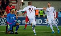 Kết quả vòng loại EURO 2020: Đan Mạch giành vé vào vòng chung kết