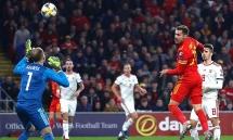 Kết quả các trận đấu vòng loại EURO 2020: Xứ Wales điền tên mình vào vòng chung kết