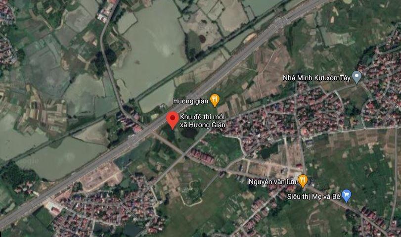 Bắc Giang duyệt quy hoạch Khu đô thị mới xã Hương Gián hơn 23ha