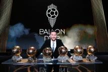 Quả bóng vàng châu Âu 2019 gọi tên Lionel Messi