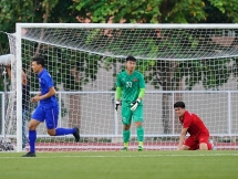 U22 Việt Nam tiễn đương kim vô địch SEA Games 29 về nước
