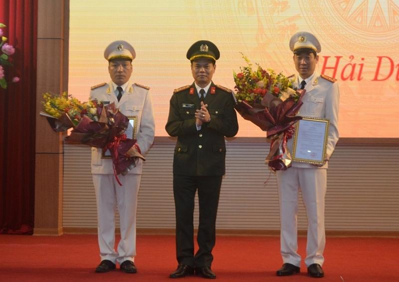 Hải Dương có hai tân Phó Giám đốc công an tỉnh