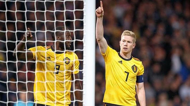 Scotland 0-4 Bỉ: De Bruyne tỏa sáng với hat-trick kiến tạo và ghi 1 bàn