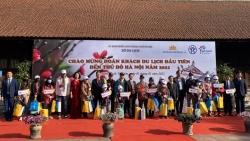 Hà Nội đón đoàn khách du lịch nội địa đầu tiên trong năm 2021