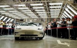 Lượng xe ô tô Tesla bàn giao năm 2020 vượt kỳ vọng
