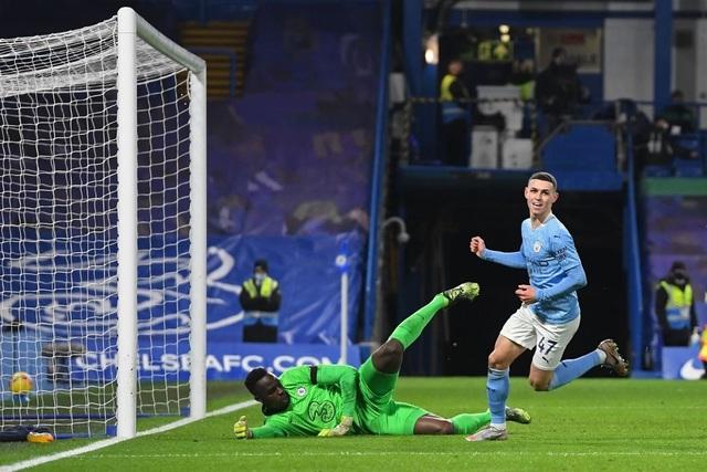 Chelsea 1-3 Man City: Hai phút, hai bàn thắng - 13